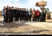آغاز طرح جهادی شهرداری بجنورد در مناطق حاشیه شهر به روایت تصاویر