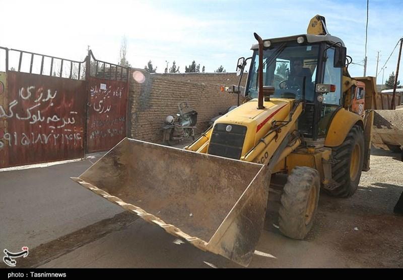 اقدام جهادی شهرداری بجنورد برای زدودن غبار محرومیت از حواشی شهر+ فیلم