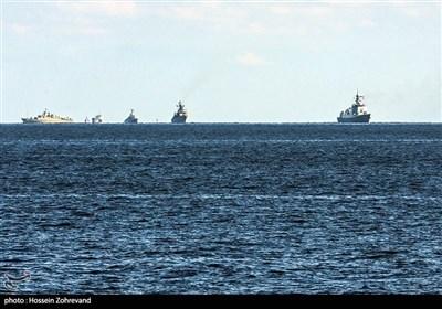 المرحلة الأولى من تدريبات المناورات المشتركة بين ايران وروسيا والصين