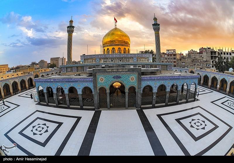 """نماهنگ """"به تو از دور سلام"""" در حرم حضرت زینب(س)"""