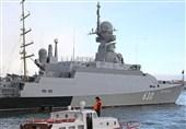 """تجهیز ناوگان دریای سیاه روسیه به کشتی مجهز به موشک """"کالیبر""""+فیلم"""