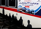 بهرهبرداری از ۲۴۳ دستگاه ناوگان ریلی ساخت ایران