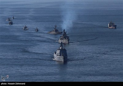 رژه مرکب دریایی رزمایش ایران، روسیه و چین