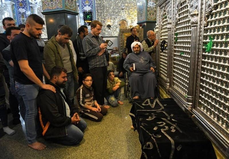 حضرت زینب (س) , حرم مطهر حضرت زینب (س) , اهل بیت علیهم السلام , کشور سوریه ,