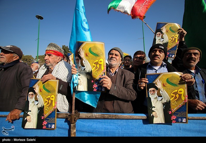 مراسم بزرگداشت 9 دی در اصفهان