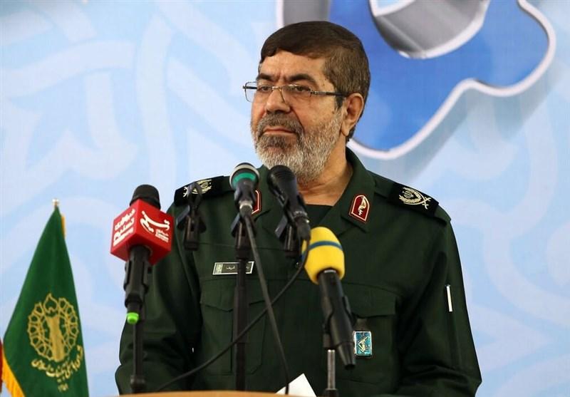 سخنگوی سپاه پاسداران در بجنورد: مردم ایران گول تفالههای سلطنتطلب را نمیخورند