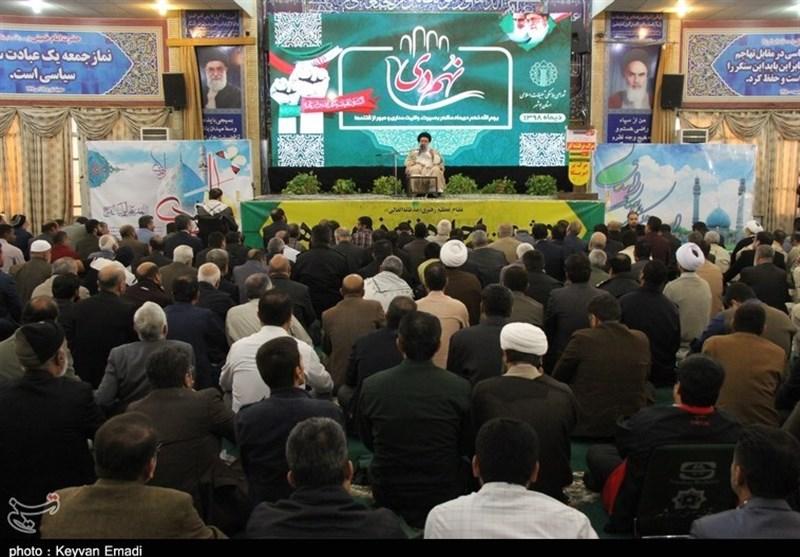 تجمع بصیرتی مردم بوشهر در سالروز حماسه 9 دی به روایت تصویر