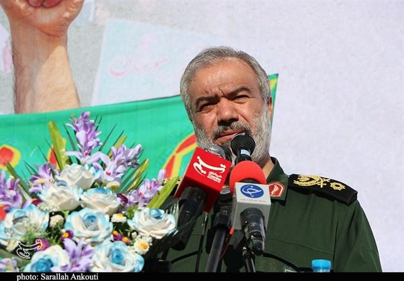 امیر فدوی جانشین فرمانده کل سپاه: دشمن جرأت اجرای هیچ نقشه نظامی علیه ایران را ندارد/ با تمام وجود برای «خدمت به مردم» حاضریم