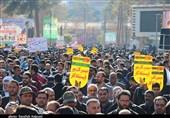 بزرگداشت حماسه 9 دی در کرمان به روایت تصویر