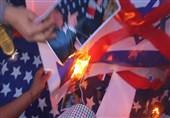 عراق کے مختلف شہروں میں امریکا کے خلاف مظاہرے+ تصاویر