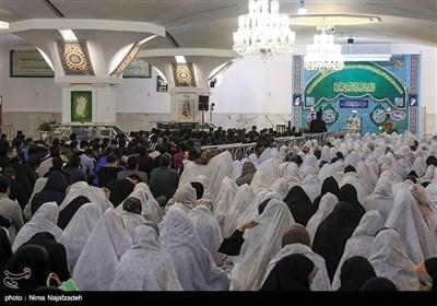 افتتاحیه بیست و سومین دوره ازدواج دانشجویی در حرم مطهر رضوی