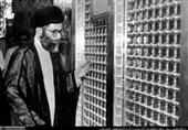 تصاویری از حضور رهبر انقلاب در حرم حضرت زینب (س)