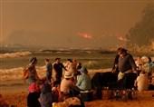 مرگ 7 نفر بر اثر آتشسوزی گسترده در استرالیا +تصاویر