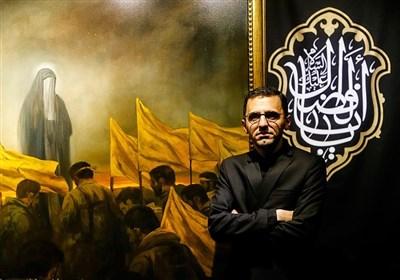 نقاشی «حسن روحالأمین» از عروج ملکوتی شهید «محمدجعفر حسینی» + عکس