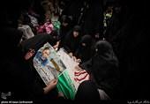 جانباز شهید غلامحسین ترابعلی در گلزار شهدای بهشت زهرا(س) آرام گرفت
