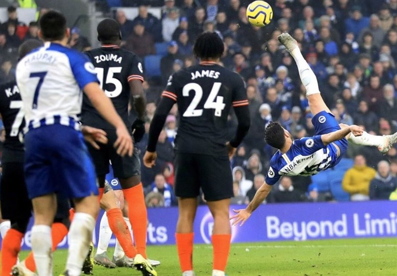 Jahanbakhsh Wonder Strike against Chelsea Up for Goal of Season