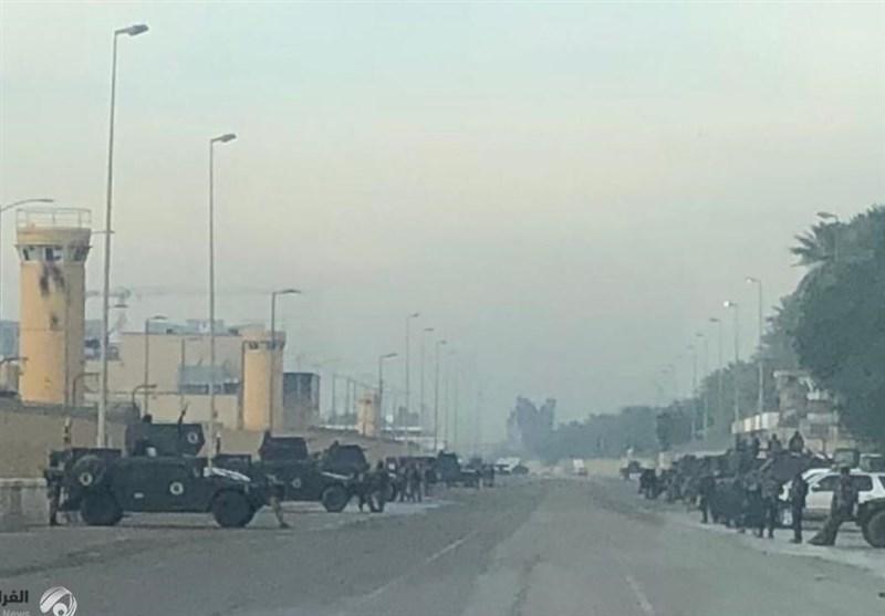 یک فرمانده حشد شعبی: موشکباران سفارت شرارت(آمریکا) کار گروههای مقاومت نیست