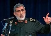 سردار قاآنی: میدانیم به چه زبانی با آمریکا صحبت کنیم/ خون شهدای مقاومت راه قدس را آزاد خواهد کرد