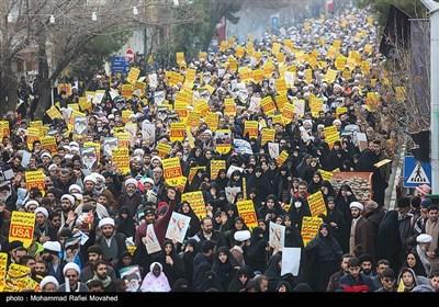 راهپیمایی سراسری در پی شهادت سپهبد حاج قاسم سلیمانی - استانها (2)