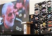 شب شعر «انتقام سخت» در جشنواره فیلم عمار|سردار سلیمانی هزاران «سلیمانی» تربیت کرده که محکم ایستادهاند+عکس