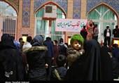 گلزار شهدای کرمان بیتاب حضور سردار / مردم این روزها آرام و قرار ندارند + عکس