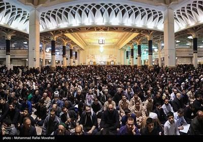 مراسم بزرگداشت شهادت سپهبد شهید حاج قاسم سلیمانی- قم