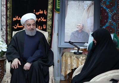 روحانی: شهید سلیمانی در تاریخ ملت ایران و آزادیخواهان جهان سرافراز و جاودانه خواهد ماند