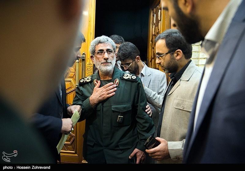 گزارش| سردار قاآنی؛ فرمانده در سایهای که به میدان آمد/ حرکت پرشتاب در مسیر حاج قاسم