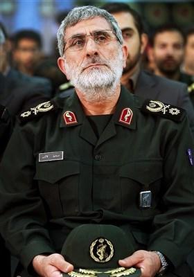 سردار سرتیپ قاآنی فرمانده جدید سپاه قدس