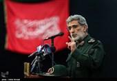 سردار قاآنی: با تمامی نیروهای مدافع کشور در گرفتن انتقام شهید فخریزاده همپیمان میشویم