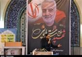 سنگ تمام کرجیها در مراسم بزرگداشت شهید سلیمانی / وقتی اشک فراق سردار مردم را امان را نمیدهد + فیلم