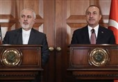 چاووش اوغلو: نشست سه جانبه ایران، جمهوری آذربایجان و ترکیه به زودی برگزار می شود/ ظریف: منتظر حضور اردوغان در تهران هستیم