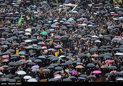 مراسم گرامیداشت شهید سپهبد قاسم سلیمانی در میدان امام اصفهان