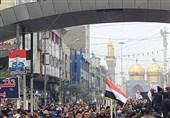 تشییع پیکر «حاج قاسم» و دیگر شهدا در عتبات عالیات پایان یافت/ عراق یک صدا علیه آمریکا+عکس و فیلم