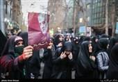 راهپیمایی دانشجویان تهران در پی شهادت سردار سلیمانی-خیابان فلسطین