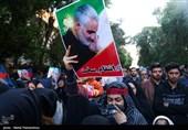 بازوبند پهلوان ماندگار ملی ایران به خانواده شهید قاسم سلیمانی اهدا میشود