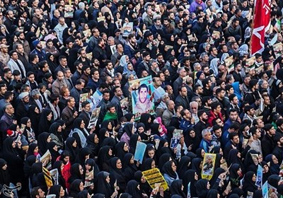 Huge Funeral Procession Held for Gen. Soleimani in Southern Iran