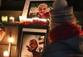 مراسم یادبود سردار سلیمانی مقابل کنسولگری آمریکا در تورنتو+فیلم