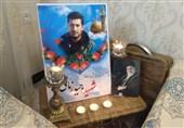 تهران| پیکر شهید «زمانینیا» در حرم حضرت عبدالعظیم حسنی(ع) به خاک سپرده شد