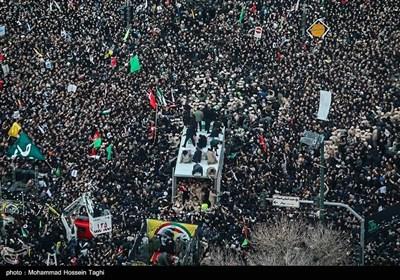 Iranians Bid Farewell to Assassinated Gen. Soleimani in Mashhad