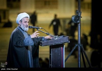 سخنرانی علیرضا پناهیان در اجتماع عظیم عزاداران شهید سپهبد حاج قاسم سلیمانی