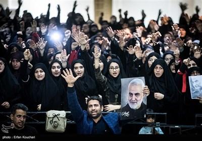 اجتماع عظیم عزاداران شهید سپهبد حاج قاسم سلیمانی