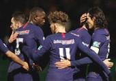 جام حذفی فرانسه| پاریسنژرمن با 6 گل صعود کرد