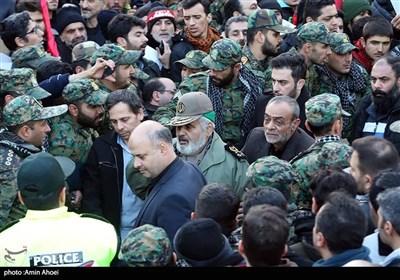 تشییع پیکر پاک شهدای مقاومت در تهران