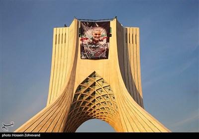 تشييع جثامين شهداء المقاومة في طهران