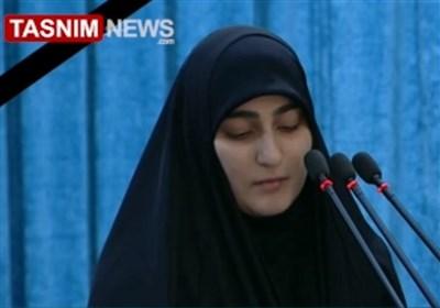 دختر سپهبد سلیمانی: نام حاج قاسم، آشیانه صهیونیسم و تکفیر را همینک نیز میلرزاند