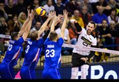 والیبال انتخابی المپیک| اسلوونی و آلمان پیروز شدند/ بُرد ژرمنها در حضور خدیرا + تصاویر