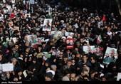عکس| عظمت حضور ملت ایران؛ میلیونها ایرانی خونخواه حاج قاسم