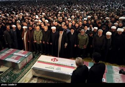 تہران میں شہید جنرل سلیمانی اور ان کے ساتھیوں کی نماز جنازہ میں 50لاکھ کا اجتماع