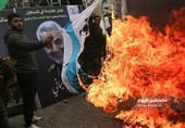 Palestinians in Gaza Strip Pay Tribute to General Soleimani